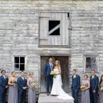 The Oaks Waterfront Inn & Events Maryland Wedding Venues rustic barn wedding reception
