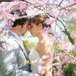 The Oaks Waterfront Inn & Events Maryland Wedding Venues cherry blossoms