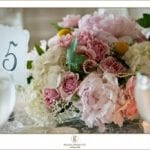 The Oaks Waterfront Inn & Events Maryland Wedding Venues bohemian floral arrangement