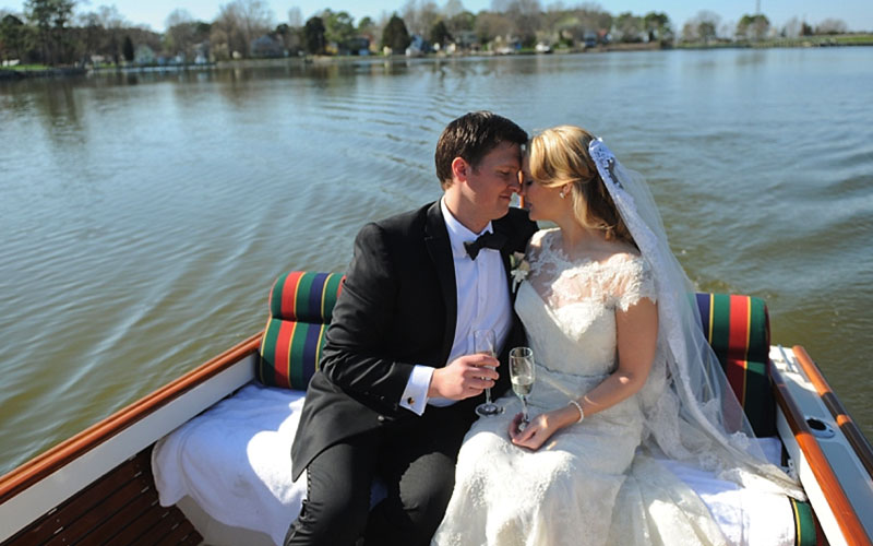 The Oaks Waterfront Inn & Events Maryland Wedding Venues newlywed waterfront tour
