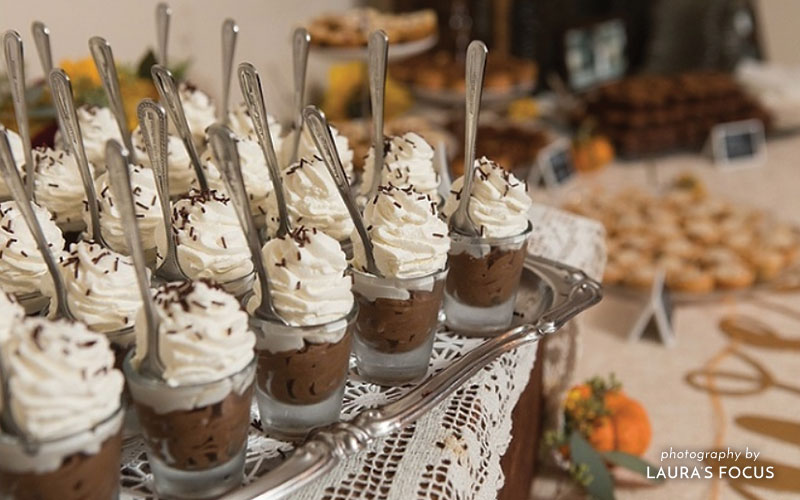 The Oaks Waterfront Inn & Events Maryland Wedding Venues wedding dessert ideas