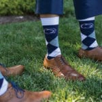 The Oaks Waterfront Inn & Events Maryland Wedding Venues penn state theme socks for groomsmen