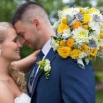 The Oaks Waterfront Inn & Events Maryland Wedding Venues romantic newlyweds