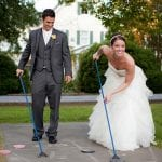 The Oaks Waterfront Inn & Events Maryland Wedding Venues wedding games