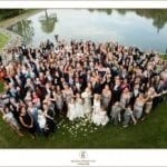 The Oaks Waterfront Inn & Events Maryland Wedding Venues wedding guests on waterfront