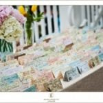 The Oaks Waterfront Inn & Events Maryland Wedding Venues bohemian seating cards