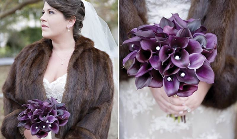The Oaks Waterfront Inn & Events Maryland Wedding Venues bride in mink